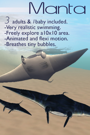Manta Rays! -- by The LOLO Pet Shop