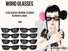 mc  word glasses ad