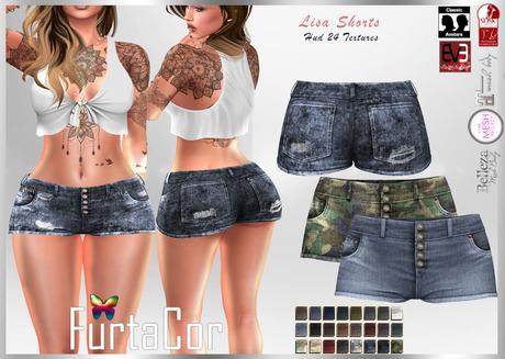 FurtaCor*Lisa Shorts