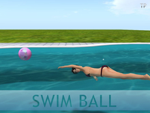 Swim ball (Beach Ball Style)