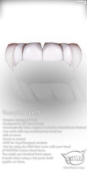CATWA Teeth [Vampire]