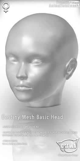 CATWA HEAD Destiny [DEMO]