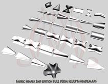 Fabric shapes 2nd edition FULL PERM SCULPT SHADEMAPS Ruffles
