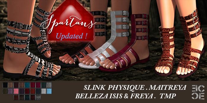 %.:EC:. Package Spartans For Slink & TMP Bare Feet (wear me)