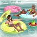 {what next} Lazy Summer Floatie Set 2