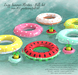 Whatnext lazy summer floaties full set 3