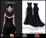L'Emporio ::* Ophelia Gown*:: Black  Slink/Maitreya/Belleza   (