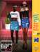 Ec.cloth - Denim High Waist Skirt - Dark Blue