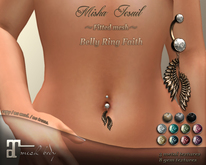 ~Misha Jesuil~ Belly ring Faith for Maitreya Lara