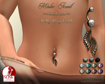 ~Misha Jesuil~ Belly ring Faith for Slink Hourglass