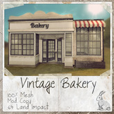 dust bunny . vintage bakery