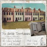 dust bunny . the gable townhouses
