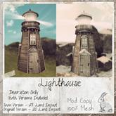 dust bunny . lighthouse