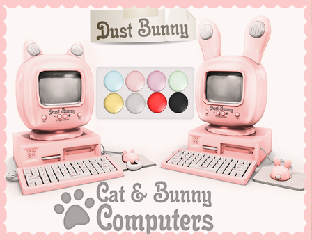 dust bunny . bunny computers  full pack
