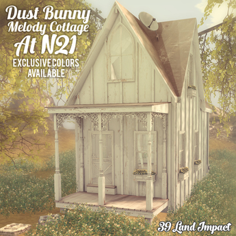 dust bunny . melody cottage