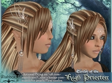 [Wishbox] High Priestess Circlet - Fantasy Crown Tiara Jewelry
