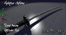 [L.W.T] >Kn< Yakuza Katana (Alta Calidad Mesh)