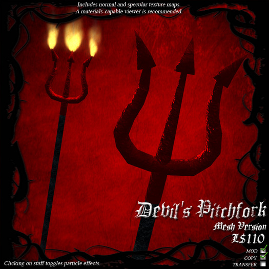 Devil's Pitchfork (Mesh Version)