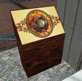 steampunk control panel earth globe time machine ornate cyberpunk