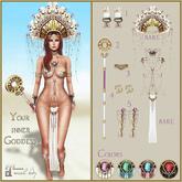 Belle Epoque { Your Inner Goddess } Pink Hand Ornament (box)