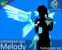 "[GW] N03 ""Melody"" Hologram Set"