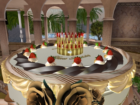 Awesome Second Life Marketplace Royal Birthday Cake Song Funny Birthday Cards Online Alyptdamsfinfo