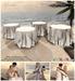 Aphrodite animated spring wedding tables