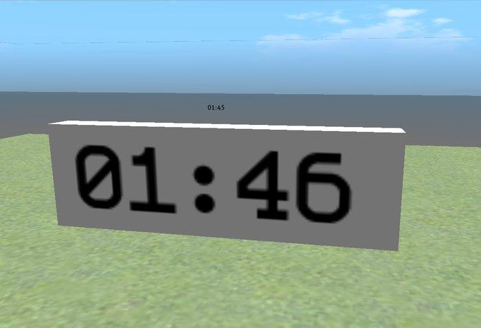 Countdown-Timer (low lag, low prim)