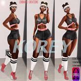 CHOBANII::Korey Work outfit  - Noir