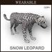 [TomatoPark] Wearable Snow Leopard