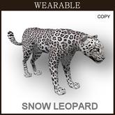 Wearable Snow Leopard