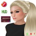"eDeLsToRe woman mesh hair "" Kath "" long tail Zopf pigtail"
