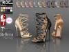 Roc lace up heel b new