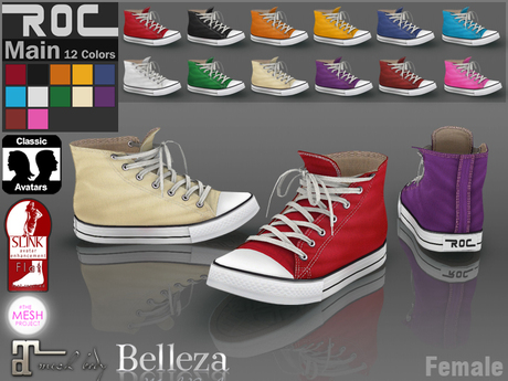 ::ROC:: Canvas Sneaker! High (FEMALE)