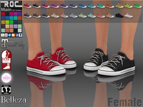 ::ROC:: Canvas Sneaker! Low (FEMALE)