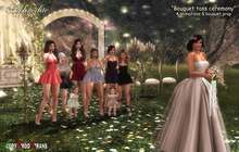 <Aphrodite>Blooming Spring Wedding - Bouquet toss ceremony- Perfect bouquet throw RP with your bridemaids & friends