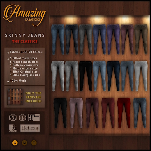AmAzInNg CrEaTiOnS  20 Skinny Jeans (The classic )