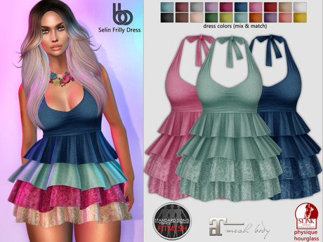 Bens Boutique - Selin Frilly Dress -  Hud Driven