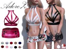 AdoreZ - Flavia Top and Skirt Hud Colors