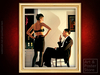 NIGHT IN THE CITY | Jack Vettriano | Gold Fluted Frame