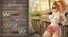 Blueberry - Rachel Mesh Crop Tops - Maitreya Lara, Belleza (All), Slink Physique Hourglass - Fat Pack