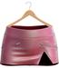 Blueberry - Rachel Mesh Leather Skirts - Maitreya Lara, Belleza (All), Slink Physique Hourglass - Shiny - High Waist