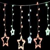 Animated christmas lights stars cl3907