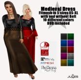 JUNES Medieval Dress with HUD