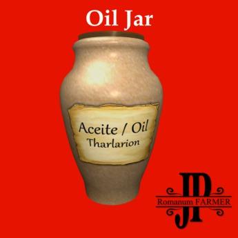 Tharlarion oil jar [G&S]