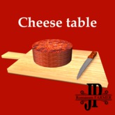 Cheese table [G&S]