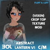 F&L - Abstract Crop Top Mod - Large Lantern V1