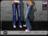 - MPP Mesh - Flare Jeans