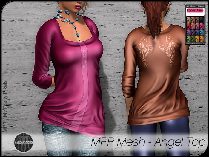 - MPP Mesh - Angel Top