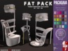 :PC: Kayla Heels [FATPACK] (wear to unpack) PRICE FOR A LIMITED TIME